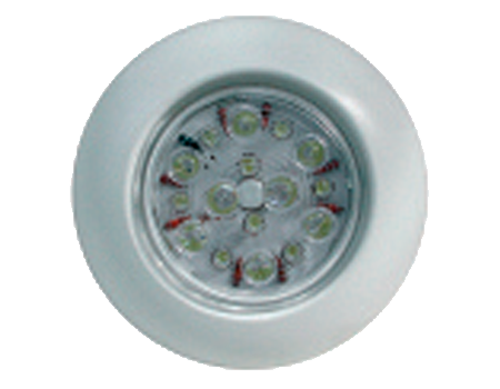 Luz led c/interruptor blanca 110 mm.