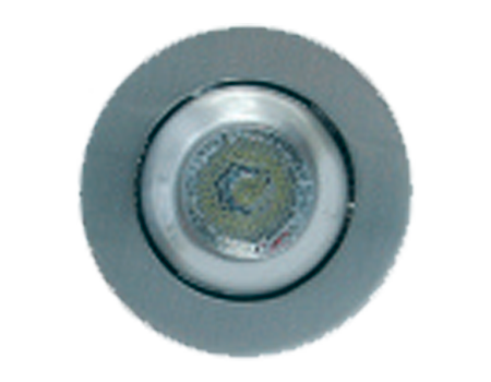 Luz led empotrable alta int. 55 mm.