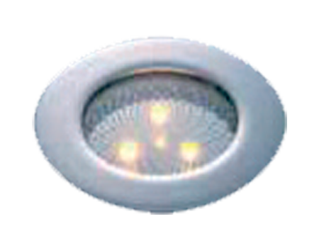 Luz led empotrable plana alta int.12/24v 88 mm.
