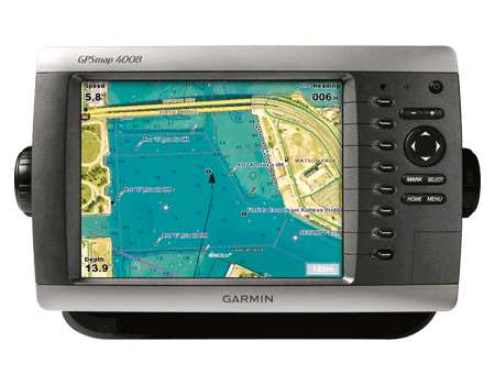 Gps/plotter 4008 tft color 8,4 c/antena