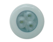 Luz led empotrable blanca 80 mm.
