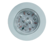 Luz led empotrable c/interruptor 100 mm.