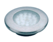 Luz led empotrable inox 97 mm.